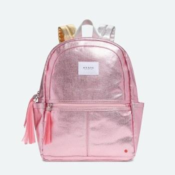 Kane Backpack Metallic Pink/Silver