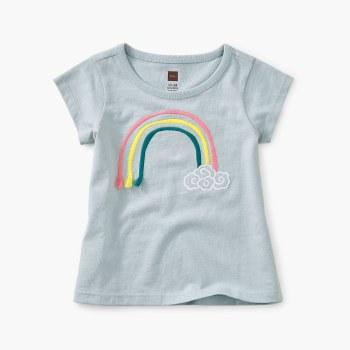 3D Rainbow Baby Tee 3-6M