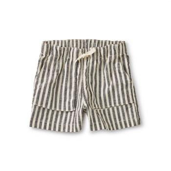 Camp Shorts Black Stripe 6