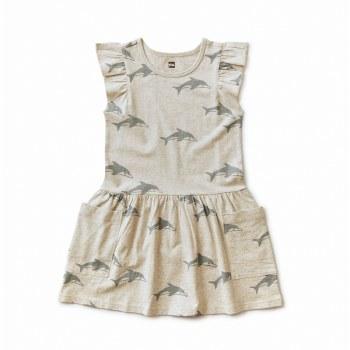 Dolphin Pocket Dress Grey 5