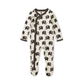 Footed Romper Elephant 6-9M