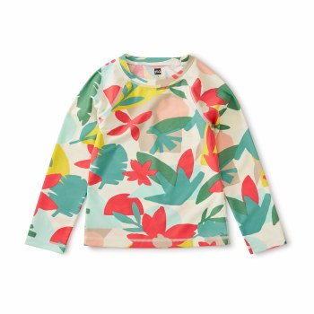 Oasis Floral LS Rash Guard 4