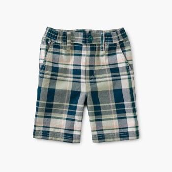 Plaid Travel Shorts Delta 5