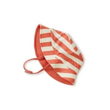 Reversble Swim Hat Mauve 6-12M