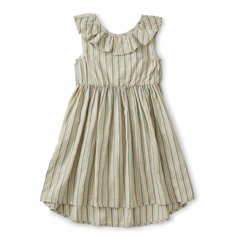 Ruffle Hi-Lo Dress Marsh 7
