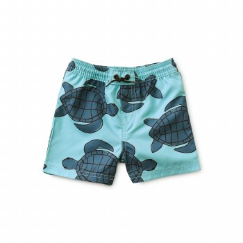 Sea Turtle Baby Trunks 6-9M