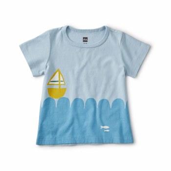 Set Sail Baby Tee 6-9M
