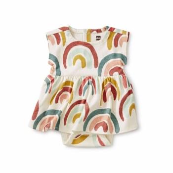 Sweet Baby Dress Rainbow 6-9M