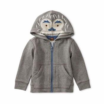 Yeti Zip Baby Hoodie 9-12M