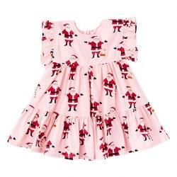 Baby Kit Dress Santas 6-12M
