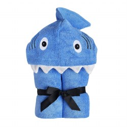 Hooded Towel- Shark