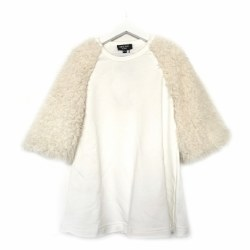 A-Line Fur Dress 4