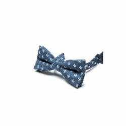 Bow Tie Navy Bloom