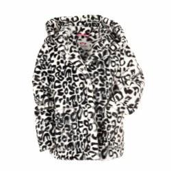 Cleo Faux Fur Coat Snow 6