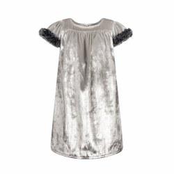 Emma Dress Silver 2