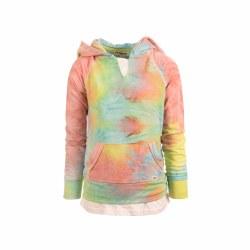 Fiona Hoodie Tie Dye Ombre 4