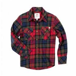 Flannel Shirt Red Moss Pld 6