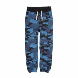 Gym Sweats Navy Camo 3