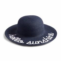 Hello Sunshine Hat Navy L