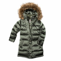 Long Down Coat Moss 7