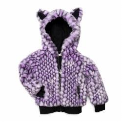 Luna Fur Jacket Amethyst 6