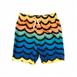Wavy Morning Swim Trunks 2