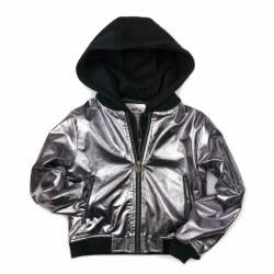 Phoebe Jacket Metallic Rose 7
