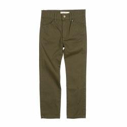 Skinny Twill Pant Moss 4