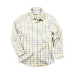 Standard Shirt Yellow Plaid 3