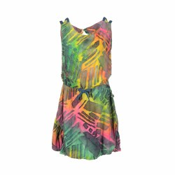 Tinos Dress Rainbow Ombre 10