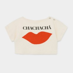 Chachacha Kiss Crop Sweat 2/3Y