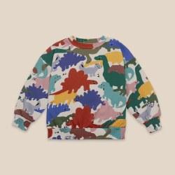 Dinos All Over Sweatshirt 4/5Y