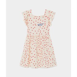 Dots Jersey Ruffle Dress 8/9Y