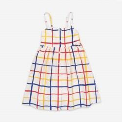 Multicolor Checker Dress 4/5Y