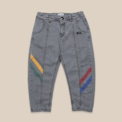 Multicolor Denim Trouser 4/5Y