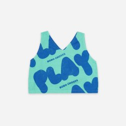 Play Woven Tank Top 2/3Y
