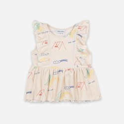 Playground Ruffle Top 4/5Y