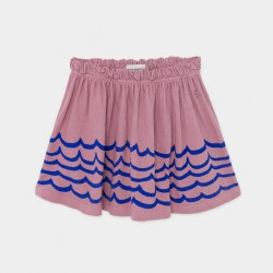 Waves Jersey Skirt 2/3Y