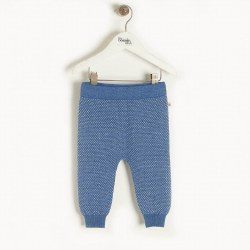 Aspen Knit Jogger Blue 3-6M