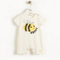 Bari Romper Bee Happy 9-12M