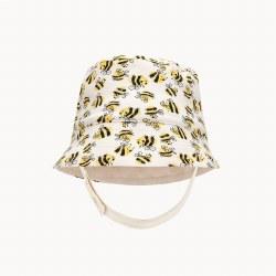 Bigsur Sun Hat Bees 0-6M