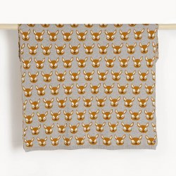 Birch Jacquard Deer Blanket