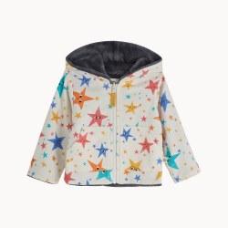 Brill Lined Hoodie Stars 9-12M