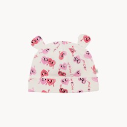 Cecil Baby Hat Heart 0-6M