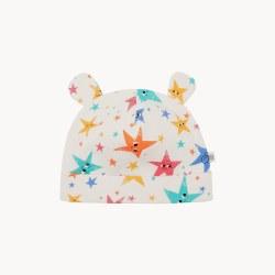 Cecil Baby Hat Stars 0-6M