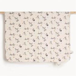 Cole Hooded Blanket Deer
