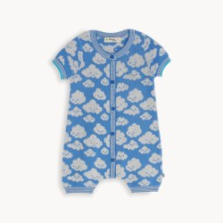 Hockney Cloud Playsuit 0-3M
