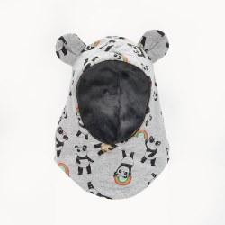 Pete Balaclava Panda Gry 2-4Y