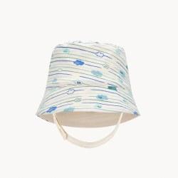Sicily Sun Hat Blue 6-12M