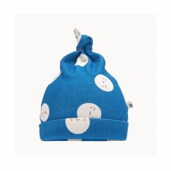 Snowmoon Baby Hat Denim 6-12M